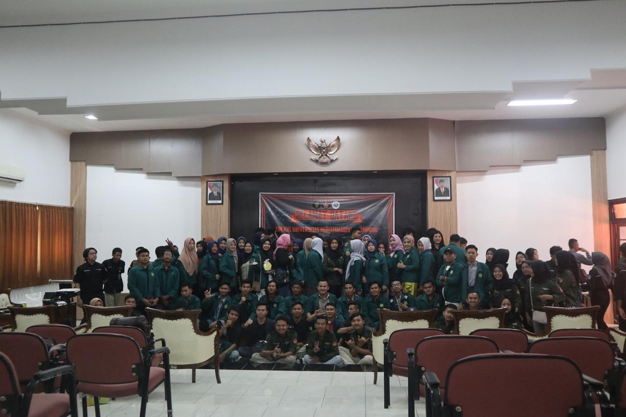 Kunjungan Program Studi Ilmu Pemerintahan FISIP Universitas Muhammadiyah Lampung